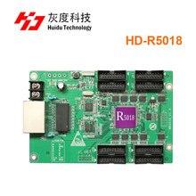 Huidu R5018 HD R5018 Huidu الإعلان الصمام عرض HD R5018 RGB تلقي بطاقة 8xHub75E ميناء العمل مع HD C15C C35C HD T901
