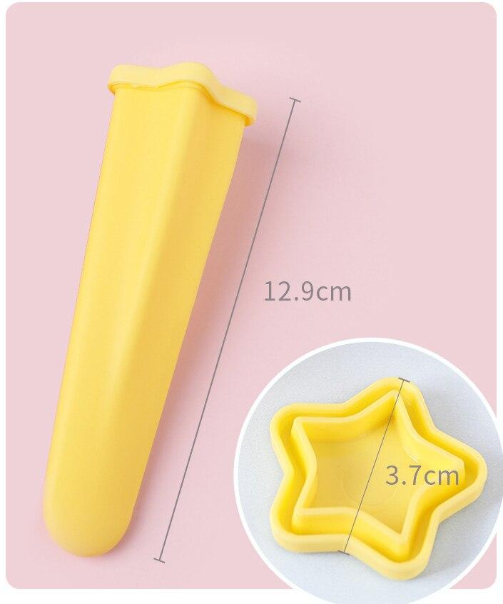 4pcs Set Silicone Popsicle Mold