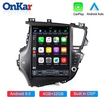 ONKAR Android 9.0  Car Radio For KIA Optima/ k5 2010-2015 12.1 inch Vertical Screen Multimedia Player 4GB+32GB SIX Core
