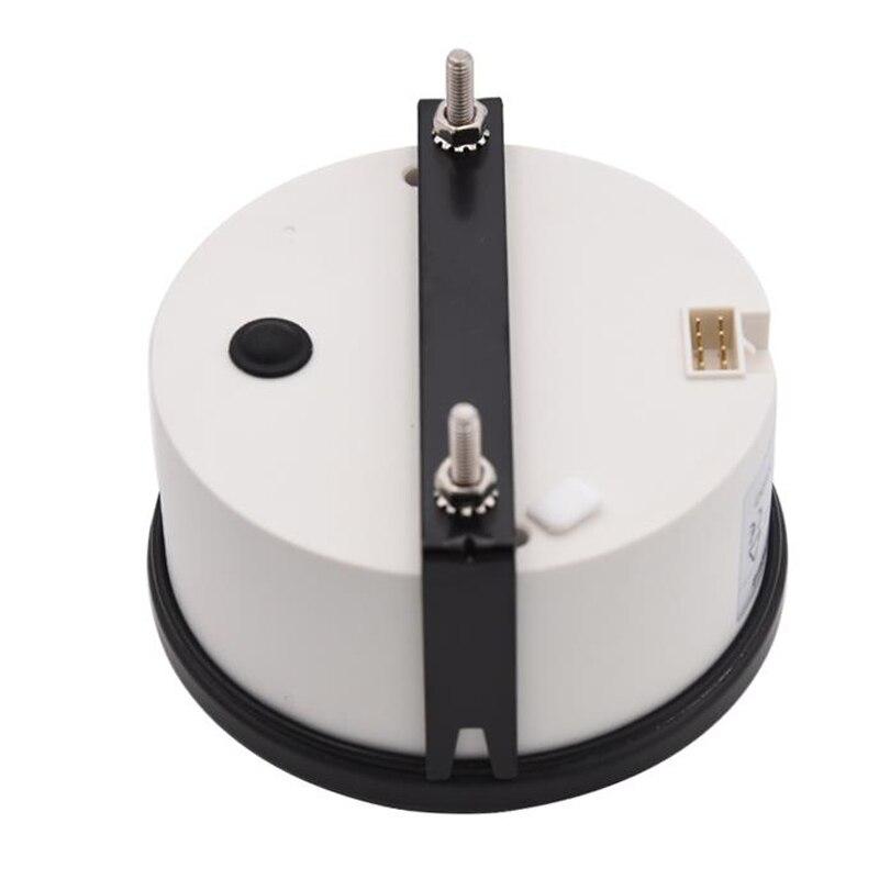 Jauge de tachymètre de bateau marin électrique blanc de 85mm 0-3000 t/mn pour le moteur Diesel - 5