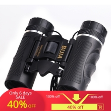BIJIA 12x25 Mini Daylight Telescope Professional Binocular Travel Outdoor Sports Folding Binoculars jumelles camping tools caza