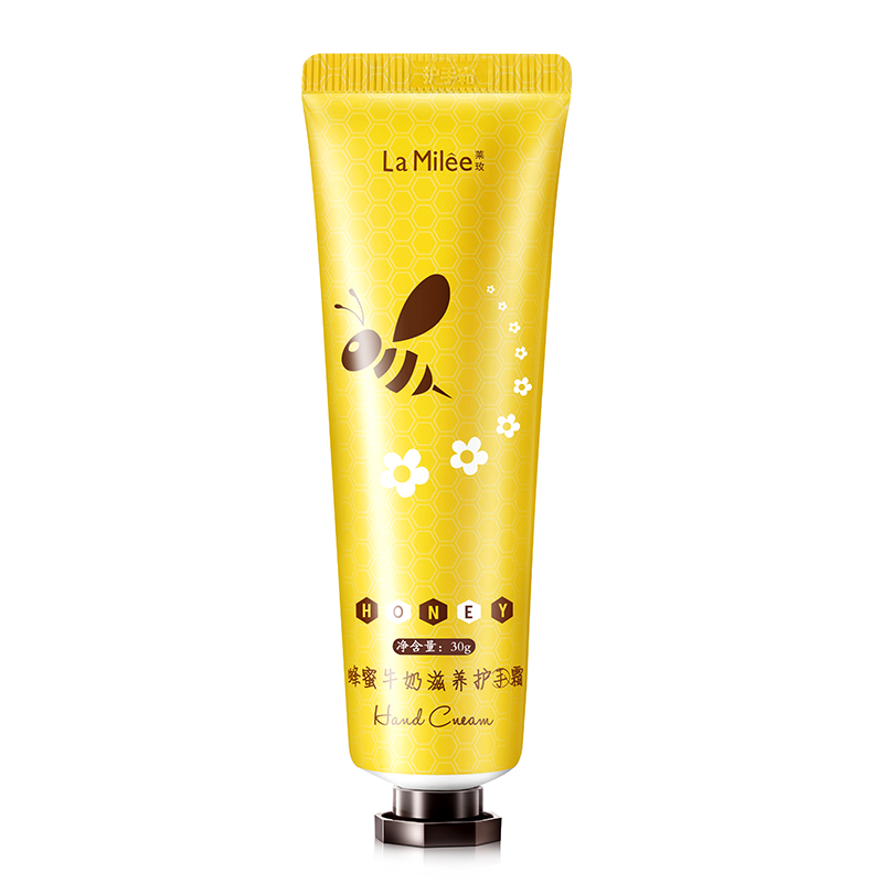 Honey Hand Cream Moisturizing Smooth Fine Lines Anti-Drying Anti-Crack Hand Cream Hand Care Lasting Moisturizing Hand Cream