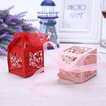 Food Container Candy Boxes Dessert Package Storage Ribbon Gift Box Paper Butterfly Hollow Cartoon Cute Portable Festival(China)
