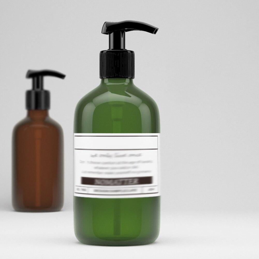500 мл бутылка для многоразового использования Пресс насос шампунь мыло жидкая Косметика дозатор жидкости