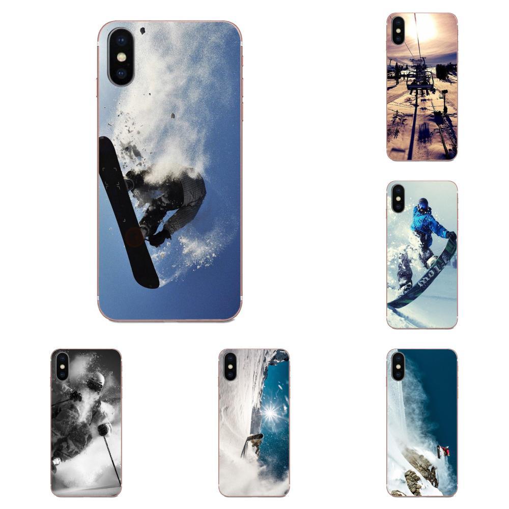 Soft TPU Mobile Shell Snow Or Die Ski Snowboard Sport For Galaxy J1 J2 J3 J330 J4 J5 J6 J7 J730 J8 2015 2016 2017 2018 mini Pro