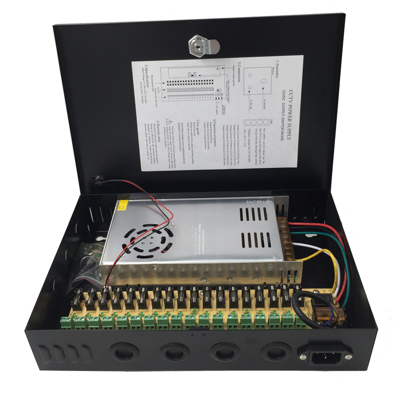 Monitor Ac/dc Power Adapter Switching Power Supply Source Transformer Integrated Control Case