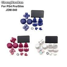ChengHaoRan Botones táctiles de edición limitada, botones de disparo L1 R1 L2 R2, piezas de reparación para PS4 Pro Slim Controller JDS 040