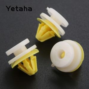 Image 1 - Yetaha 50Pcs Car Interior Inner Door Card Trim Panel Plastic Clips Rivets For Renault Clio Megane Scenic Twingo Auto Fastener