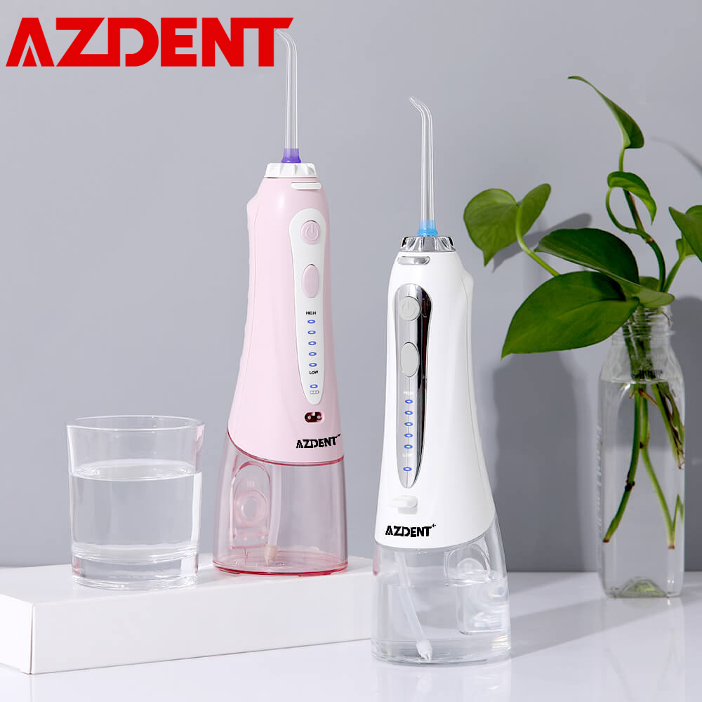 New 5 Modes Cordless Oral Irrigator Portable Water Dental Flosser USB Charging Electric Water Jet Floss Tooth Pick 5 Tips 240ml