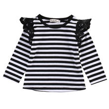 Детская одежда для новорожденных; футболки с длинными рукавами; Милая футболка для маленьких девочек; сезон весна-осень; Верхняя одежда; блузка; одежда