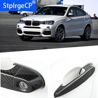 For BMW x4 F26 xDrive 28i 20i 35i M40i 2014 2018 Accessories 100% real carbon fiber Auto outer door handle cover