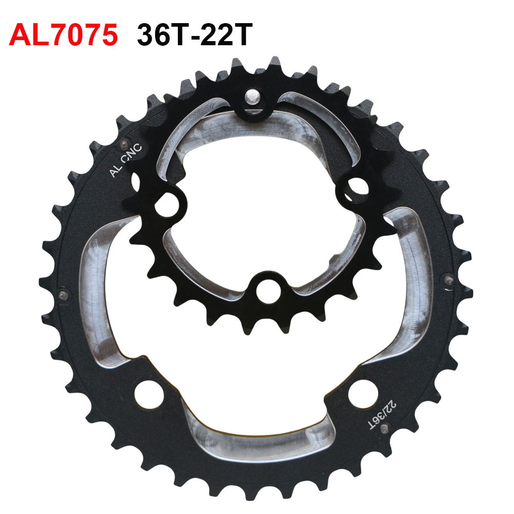 Shimano SLX M7000-10 22t 64mm 10-Speed Outer Chainring for 22-30-40t Set