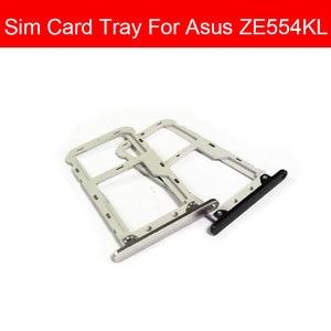 Держатель для sim-карты гибкий кабель для Asus ZenFone4 ZE554KL Z01KD Z01KDA слот для sim-карты Micro SD Reader Запасные Запчасти