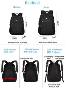 Image 2 - BaLangกระเป๋าเป้สะพายหลังแล็ปท็อปสำหรับ15.6นิ้วชาร์จพอร์ตUSBคอมพิวเตอร์กระเป๋าเป้สะพายหลังชายกันน้ำMan Business Daybackกระเป๋าเดินทางผู้หญิง