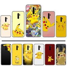 цена Pikachu yellow cartoon DIY Soft Rubber  Luxury Phone Case For Xiaomi Redmi 4x 5 plus 6A 7 7A 8 mi8 8lite 9 note 4 5 7 8 pro онлайн в 2017 году