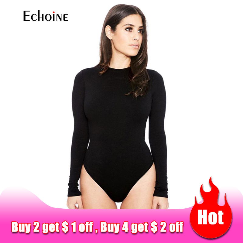 2020 Spring New Womens casual Sexy Long Sleeve Slim Pants Siamese Bottoming Bodysuit Jumpsuit Romper suit Jumper body suit