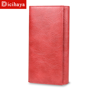 Image 3 - DICIHAYA Women Leather Wallet Long Purse Phone Pouch Butterfly Embossing Wallet Female Coin Purse Card Holders Carteira Feminina