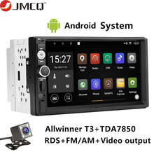 цена на JMCQ Android 9.0 T3L PLUS For VW Toyota Nissan Universal Car Radio Multimidia Video Player Navigation GPS 2GB+32GB DSP 2din dvd