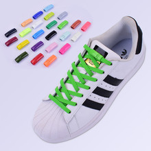 1 Pair Magnetic Shoelaces Elastic Locking ShoeLace Special Creative No Tie Shoes lace Kids Adult Unisex Sneakers Laces strings