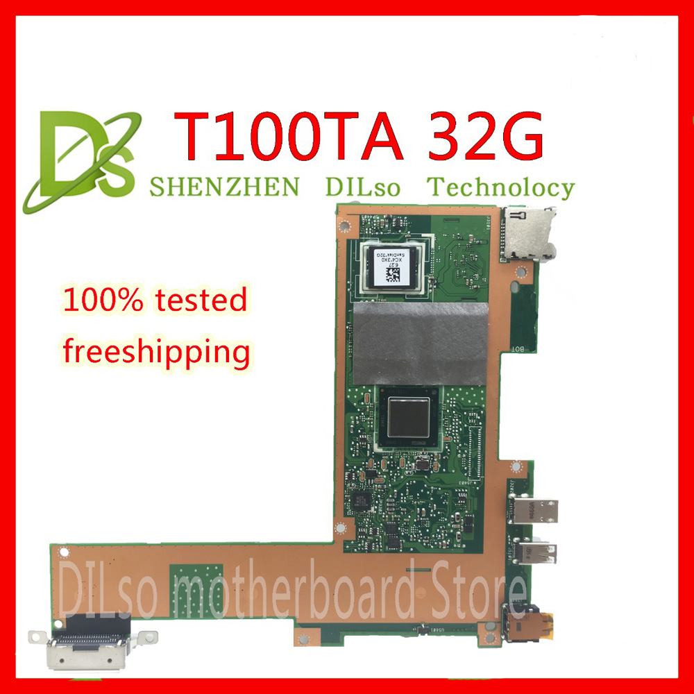 Placa do Portátil T100ta para Asus Kefu Teste Trabalho 100% Original T100ta 32g Ssd Rev2.0