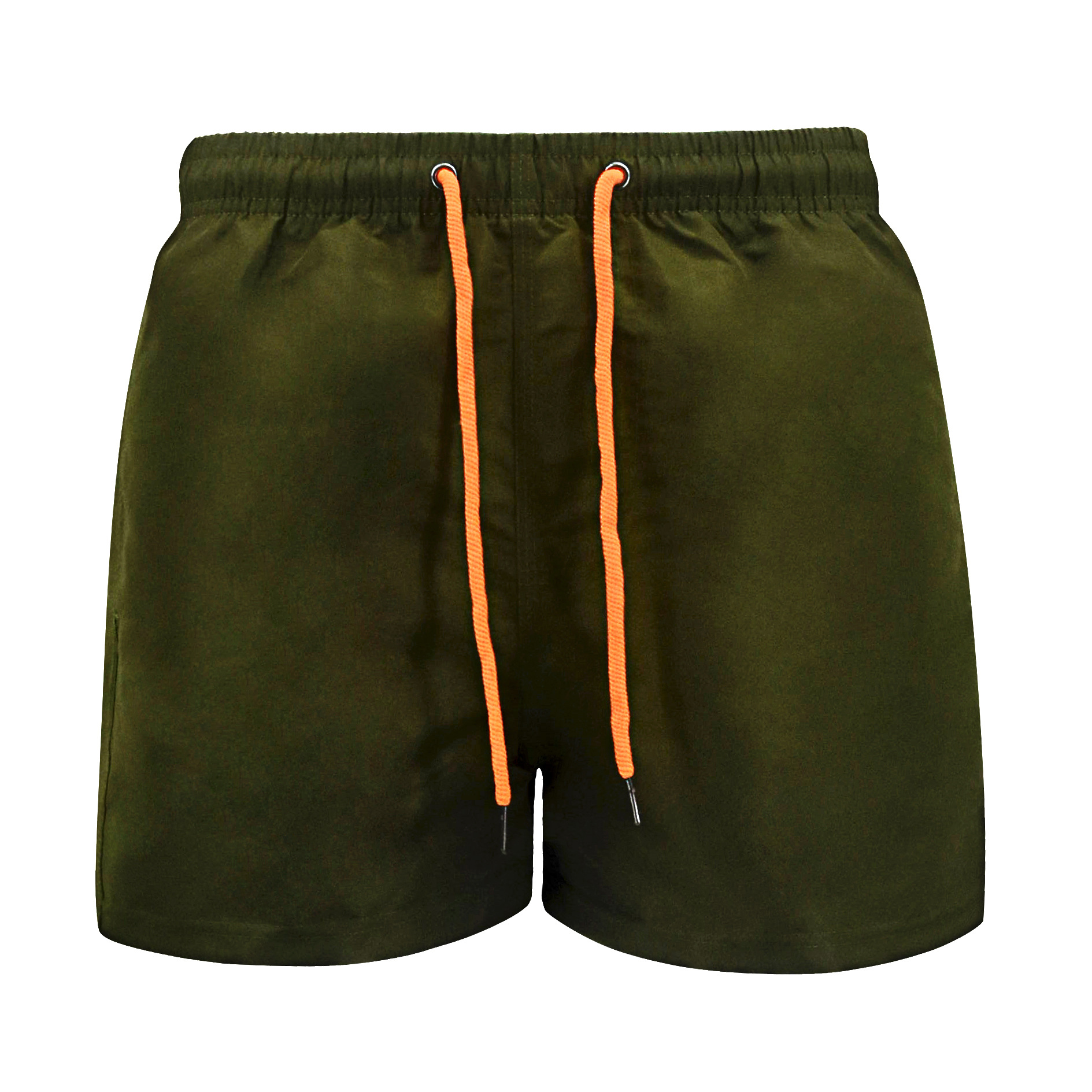 2 Pcs Summer Mens Surf Board Shorts Green Short Beach Shorts Men Lace Up Plus Size Running Jogger Fitness Sports Shorts Male 4xl