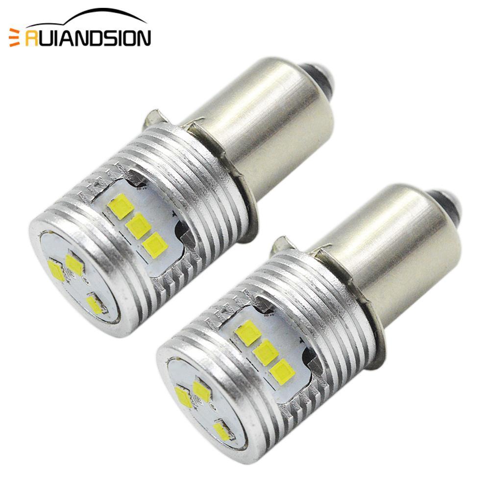 5W 6-24V P13.5S LED Ampoule Lampe De Poche TorcheTravail Ampoule Rechange