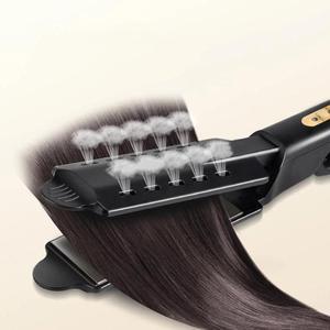 Image 3 - Women Hair Straightener Steam hair Iron Four gear temperature adjustment Ceramic Tourmaline Ionic Flat Straightening Irons