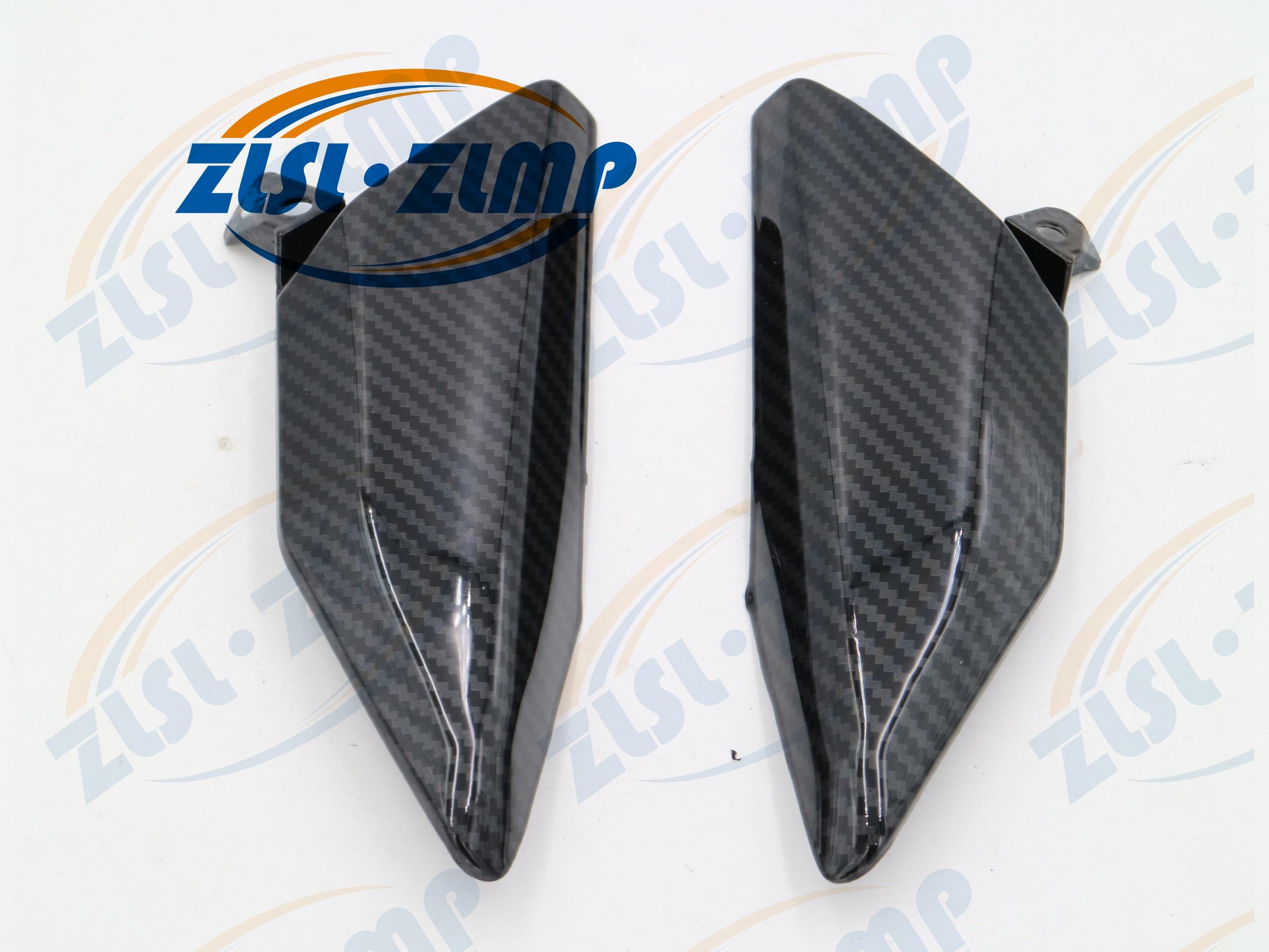 Motorcycle Carbon Fiber Side Panel Fairings Body Cover Frame Guard Motorcycle Fairing For Honda CBR600RR F5 2007-2012