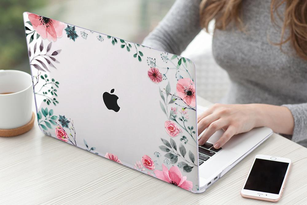 Floral Case for MacBook 173