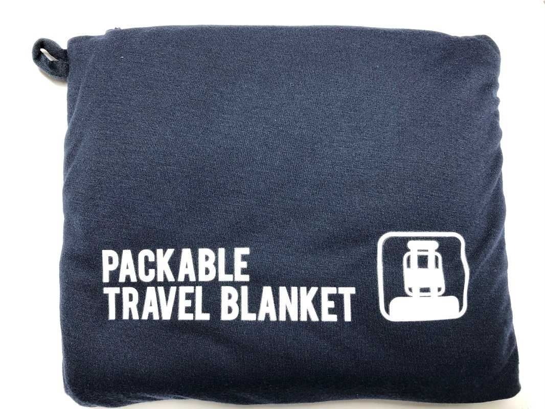 as airplane blanket camping pillow