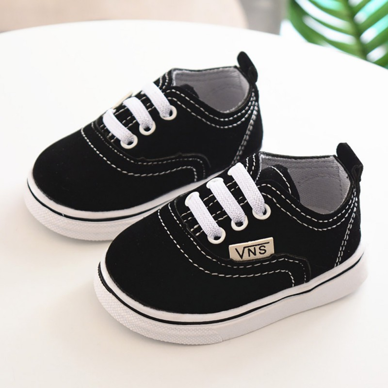 Baby Shoes Boy Girl Breathable Solid Anti-Slip Shoes Casual Sneakers Toddler Soft Soled First Walkers 0- 24M