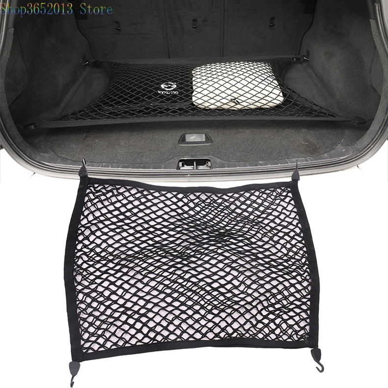 Auto-Accessories Trunk Storage XC60 Cargo Volvo for Rear Net String-Bag 1pcs