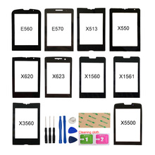 For Philips E560 E570 X513 X550 X620 X623 X1560 X1561 X3560 X5500 Front Outer Glass Panel Cover (No Touch Screen) Repair Parts