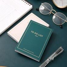 Новое поступление, простые серийные наклейки «N times To Do List», записная книжка, ежедневник, блокнот, милые канцелярские принадлежности
