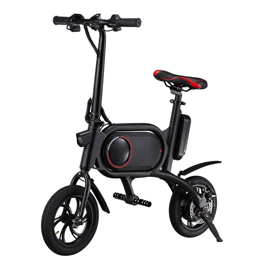 "CS-P01 Electric Bicycle E-Bike 36V 350W 30KM/H Electric Bikes 120KG Max Load 12"" Tire Dual Rear Drive Lithium Battery E Bike"