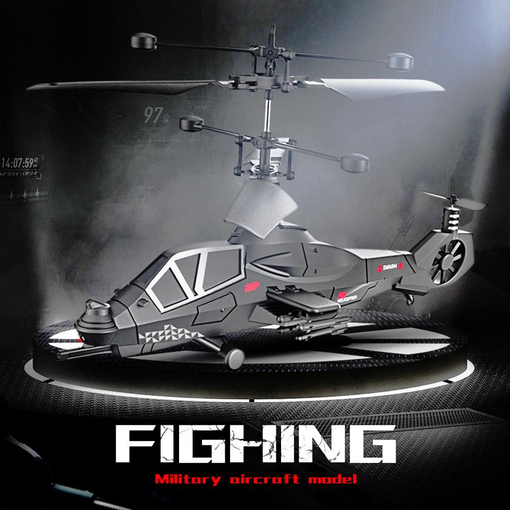 RC Drone Military Fight Super Cool 3.5 Four axis Remote Control Aircraft Model RC Drone Helicopter Quadcopter Toys For Children 1