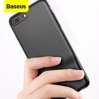 Custodia Audio Baseus per iPhone X 8 7 Plus auricolari adattatore per cuffie splitter custodia Aux Cover per iPhone 8plus 7 plus Coque Fundas