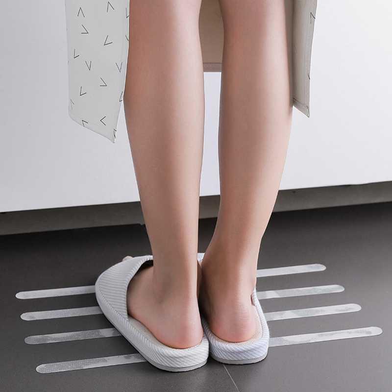 Anti Slip Bath Grip Stickers Non Slip Shower Strips Safety Flooring Tape R2O2