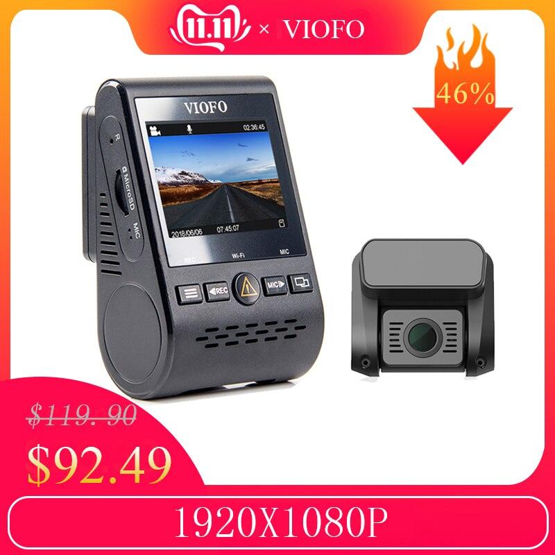 VIOFO A129 avant DVR 5GHz Wi-Fi Full HD Sony Starvis caméra de tableau de bord en option GPS caméra arrière