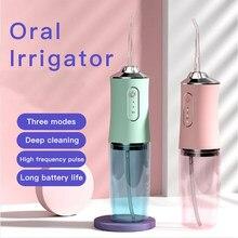 Oral irrigator dental scaler água floss picareta jato flosser para ferramentas de limpeza de dentes cuidados clareamento mais limpo remoção tártaro soocas