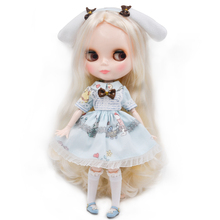 цены на Neo Blyth Doll NBL Customized Shiny Face,1/6 BJD Ball Jointed Doll Ob24 Doll Blyth for Girl, Toys for Children NBL07 в интернет-магазинах