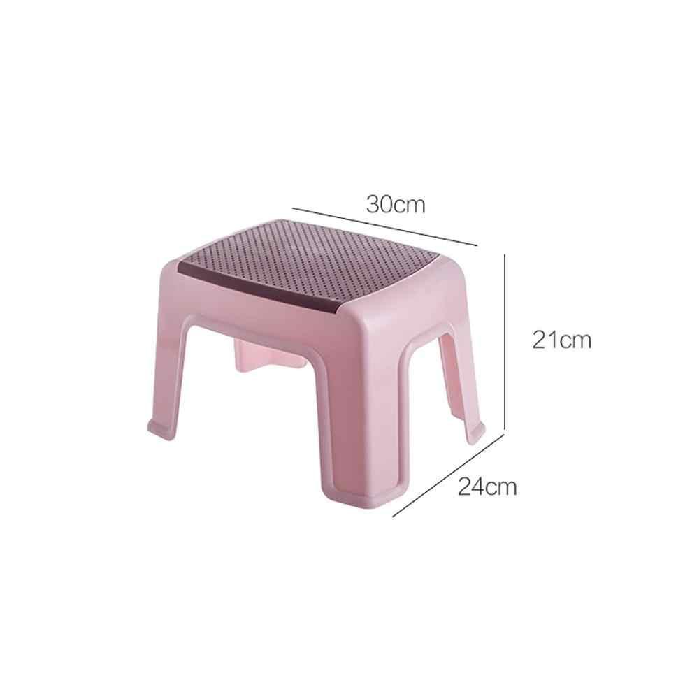 4 脚低スツールベビー抗スリップフットスツール子入浴スツール家庭プラスチック大人の変化の靴ベンチ子供家具