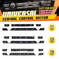 11/12/14pcs A/C Heater Button Key Caps Repair Kit Switch Button Cover For BMW 5/6/7 Series F07 GT F10 F11 F06 F12 F13 F01 F02