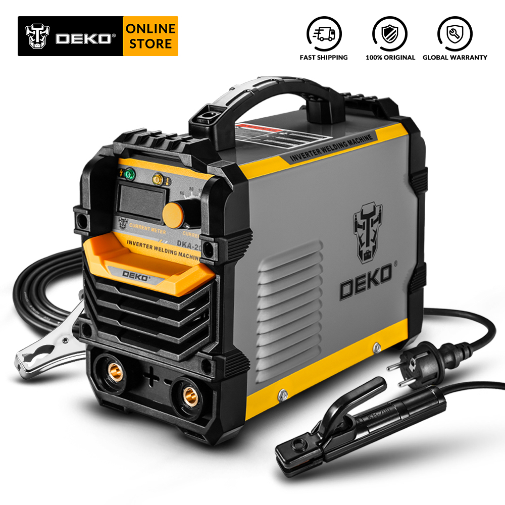 DEKO DKA New Series Arc Electric Welding Machine IGBT Inverter 220V MMA Welder Welding Tool For Home/Industrial Welding Task
