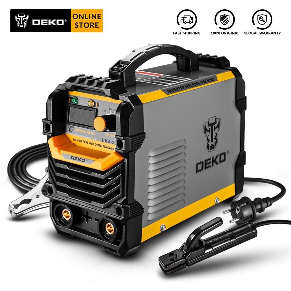 DEKO DKA New Series Arc Electric Welding Machine IGBT Inverter 220V MMA Welder Welding Tool For Home/Industrial Welding Task