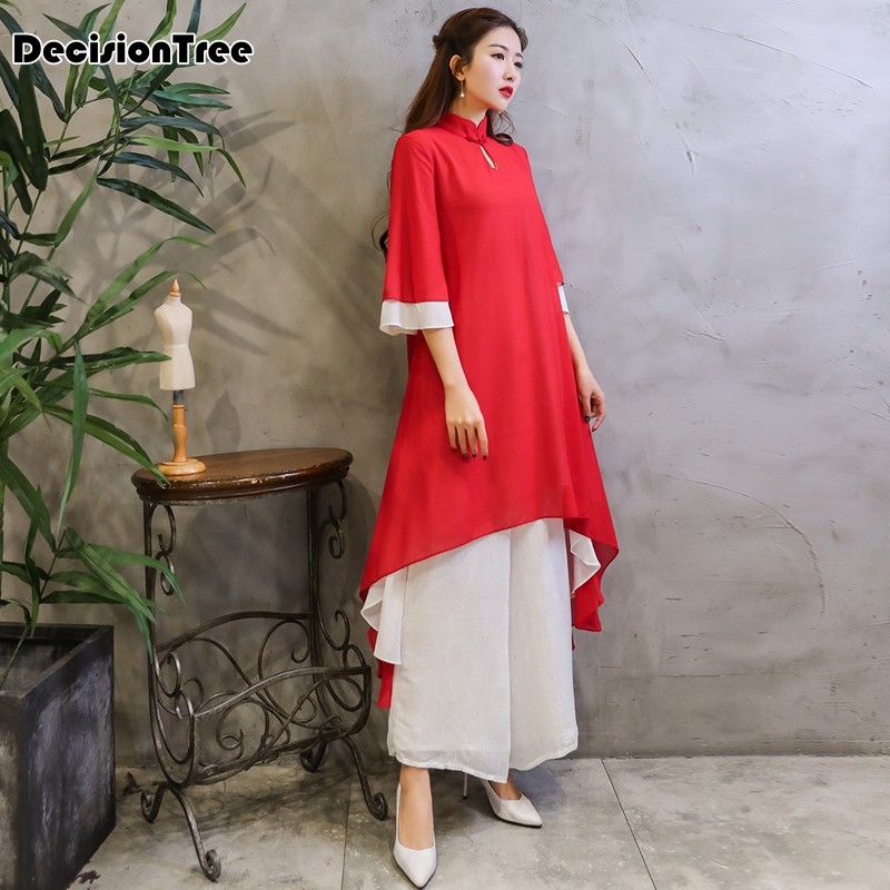 2019 Traditional Vietnam Ao Dai Elegant Long Dress Women Cheongsam Chinoise Modern Cheongsam Party Dresses Qipao Aodai