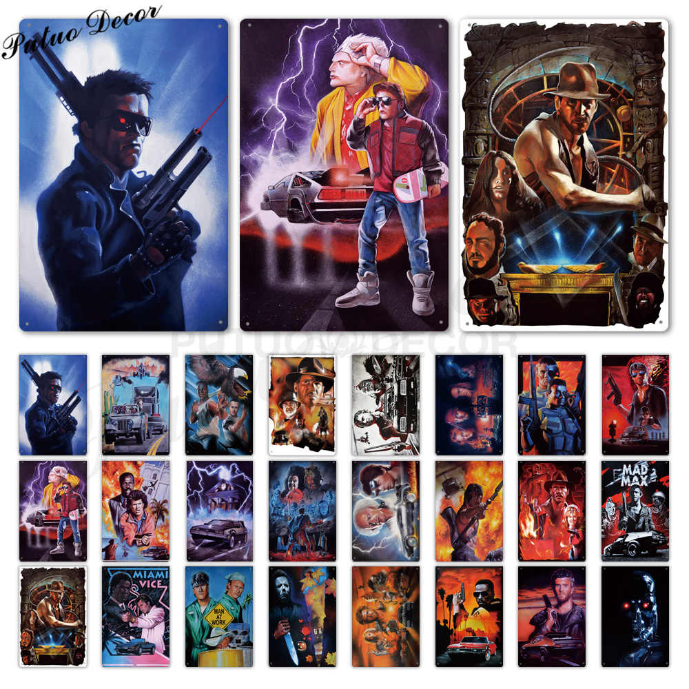 Movie Metal Poster Metal Sign Tin Sign Plaque Metal Vintage Wall Decor for Bar Pub Club Man Cave Metal Signs(20x30cm)