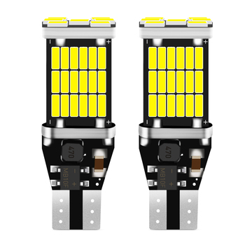 2x T15 921 W16W LED Bulb Car Backup Reverse Lights for Volvo ford Focus VW JETTA MK6 GOLF 5 6 7 Skoda Fabia Cruze image