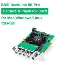 Blackmagic BMD DeckLink 8K Pro Video Capture Card Quad link SDI Capture and playback card for Mac Windows Linux SD HD 4K 8K