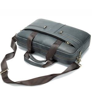 Image 5 - 2020 nouveau porte documents mode affaires hommes sac à main en cuir véritable hommes sacs de messager meilleurs sacs pour ordinateur portable poignée supérieure
